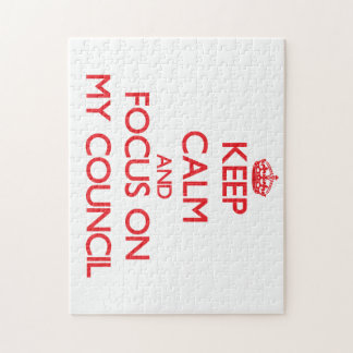 Keep Calm and focus on My Council Puzzles