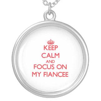 Keep Calm and focus on My Fiancee Jewelry