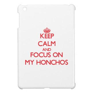Keep Calm and focus on My Honchos iPad Mini Case