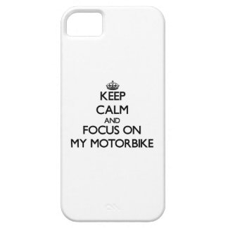 Keep Calm and focus on My Motorbike iPhone 5 Case