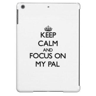 Keep Calm and focus on My Pal iPad Air Covers