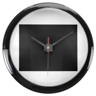Keep Calm and focus on Narrow-Minded People Fish Tank Clock