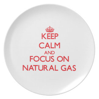 Keep Calm and focus on Natural Gas Plates
