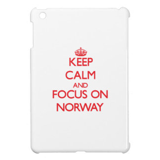 Keep Calm and focus on Norway Cover For The iPad Mini