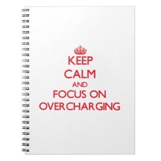 Keep Calm and focus on Overcharging Notebook