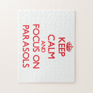 Keep Calm and focus on Parasols Puzzle