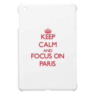 kEEP cALM AND FOCUS ON pARIS Case For The iPad Mini