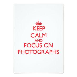 Keep Calm and focus on Photographs Announcements
