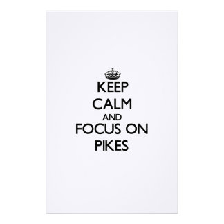 Keep Calm and focus on Pikes Stationery Design
