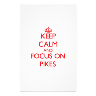 Keep Calm and focus on Pikes Stationery