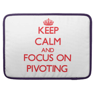 Keep Calm and focus on Pivoting Sleeve For MacBook Pro