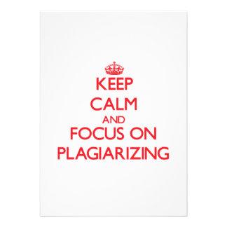 Keep Calm and focus on Plagiarizing Custom Invites