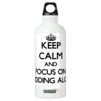 Keep Calm and focus on Plodding Along SIGG Traveler 0.6L Water Bottle