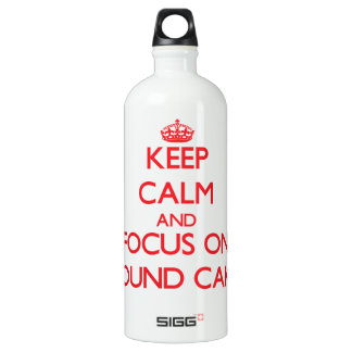 Keep Calm and focus on Pound Cake SIGG Traveler 1.0L Water Bottle