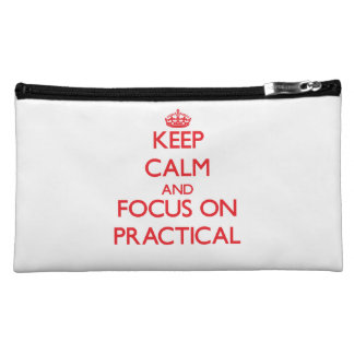 Keep Calm and focus on Practical Makeup Bags