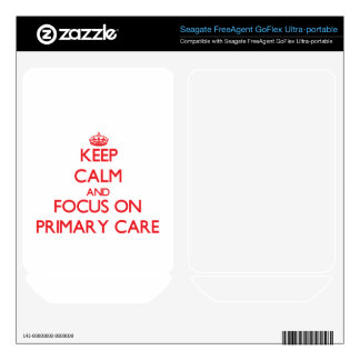 Keep Calm and focus on Primary Care FreeAgent GoFlex Skins