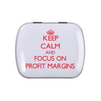 Keep Calm and focus on Profit Margins Jelly Belly Tins
