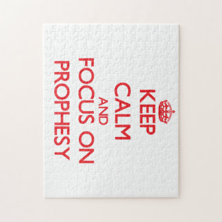 Keep Calm and focus on Prophesy Puzzle