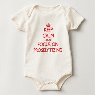 Keep Calm and focus on Proselytizing Bodysuit