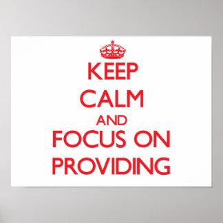 Keep Calm and focus on Providing Print