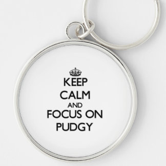 Keep Calm and focus on Pudgy Keychains