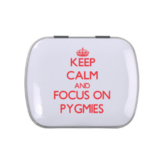 Keep Calm and focus on Pygmies Candy Tins