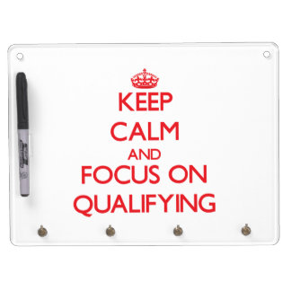 Keep Calm and focus on Qualifying Dry-Erase Whiteboards