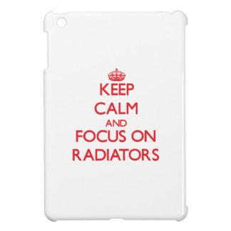 Keep Calm and focus on Radiators iPad Mini Covers