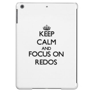 Keep Calm and focus on Redos iPad Air Covers