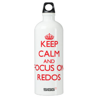 Keep Calm and focus on Redos SIGG Traveler 1.0L Water Bottle