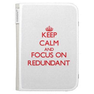 Keep Calm and focus on Redundant Kindle Keyboard Case