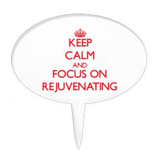 Keep Calm and focus on Rejuvenating Cake Picks