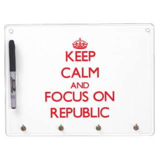 Keep Calm and focus on Republic Dry-Erase Boards