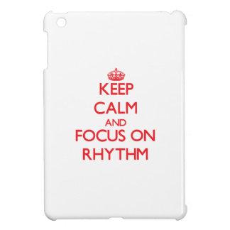 Keep Calm and focus on Rhythm iPad Mini Covers