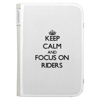 Keep Calm and focus on Riders Kindle Keyboard Case