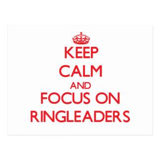 Keep Calm and focus on Ringleaders Postcards