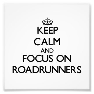 Keep calm and focus on Roadrunners Photo