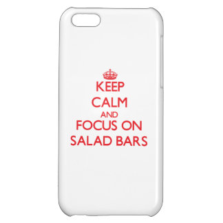 Keep Calm and focus on Salad Bars iPhone 5C Case