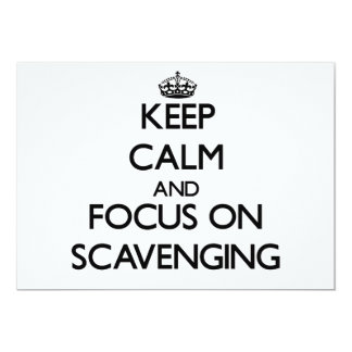 Keep Calm and focus on Scavenging Invites