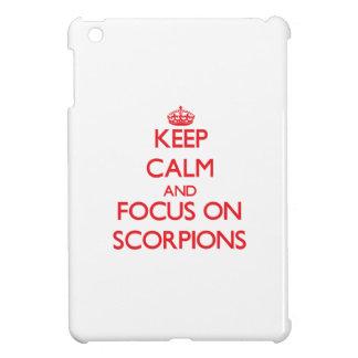 Keep Calm and focus on Scorpions iPad Mini Cover