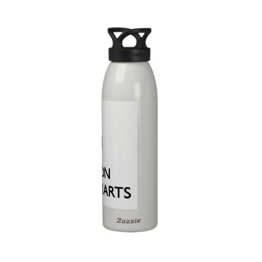 Keep Calm and focus on Seating Charts Water Bottles