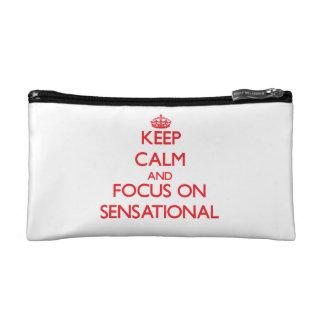 Keep Calm and focus on Sensational Makeup Bag