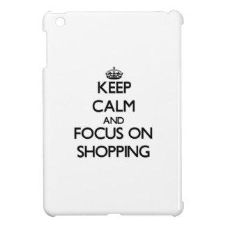Keep Calm and focus on Shopping iPad Mini Covers