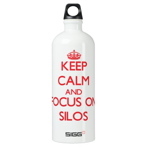 Keep Calm and focus on Silos SIGG Traveler 1.0L Water Bottle