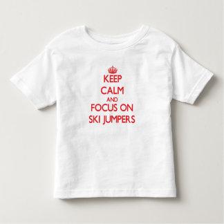 Keep Calm and focus on Ski Jumpers Tshirt