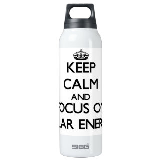 Keep Calm and focus on Solar Energy SIGG Thermo 0.5L Insulated Bottle