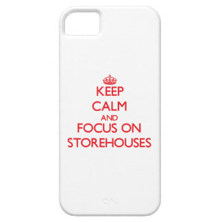 Keep Calm and focus on Storehouses iPhone 5 Cover
