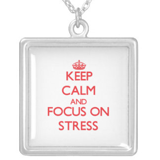 Keep Calm and focus on Stress Jewelry
