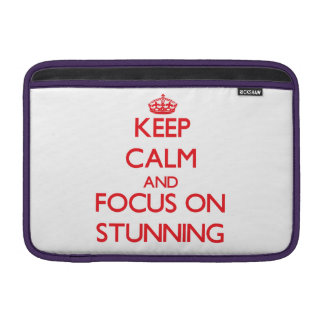 Keep Calm and focus on Stunning MacBook Sleeves