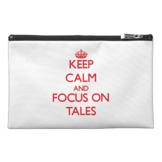 Keep Calm and focus on Tales Travel Accessories Bags